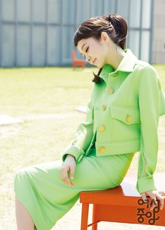 Jang Na Ra - Woman Chosun Magazine June Issue '14