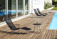 Bilderesultat for utemøbler skeidar Outdoor Chairs, Outdoor Furniture, Outdoor Decor, Chaise Longue Design, Sun Lounger, Table, Home Decor, Products, Patio