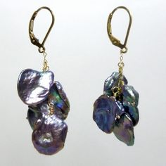 I just bought Dark Sea Pearl Earrings from Bourdage Pearls on sneakpeeq!