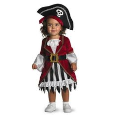 [HALLOWEEN] Toddler Girl Pirate Costume - $13.52 with FREE SHIPING WORLDWIDE! 2 DAYS for ALL USA DELIVERY!!! visit our site ->>> http://HALLOWEEN-CLOTHES.CF