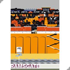 Ramsgate, Thanet Print – Andy Tuohy Design