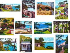 Rachel Olsen News and Exhibitions New Zealland New Zealand Art, Nz Art, Beach Houses, Olsen, Exhibitions, Kiwi, Artists, The Originals, Artwork