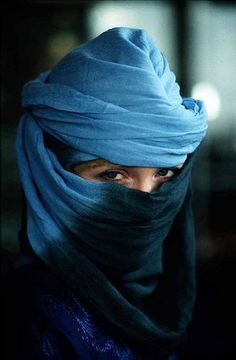 Morocco Woman in Blue by babasteve, via Flickr