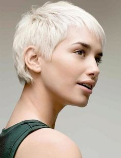 2018 Sehr kurze Pixie Frisuren & Haarschnitte
