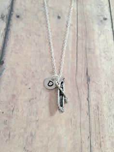 UK Silver ADVENTURE IS OUT THERE Camping Mountain Camper Necklace A8