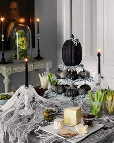 Cmo decorar una mesa para Halloween Halloween ideas Witch party