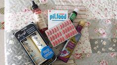 """PilFood (complexo vitamínico) Serum anti-quebra e fortalecimento (Dr. Miracles) Óleo de Rícino Óleo de linhaça Shampoo e condicionador """"Bomba"""" da Nouvelle."""