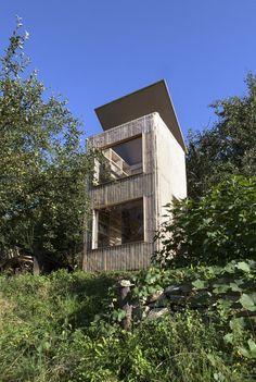 Garden library, Czech Republic by Mjölk architekti