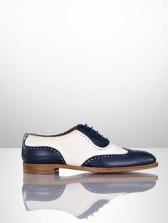 Quintin Spectator Oxford - Ralph Lauren Collection Collection Shoes - RalphLauren.com