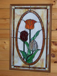 Tulips - Delphi Stained Glass