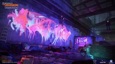 Here at Reflections, I was responsible for the Rave room on the Underground expansion for The Division, from initial inception/idea (with Graham…