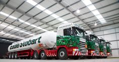 Eddie Stobart fuel tanker