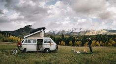 road trip + camping w/ kids