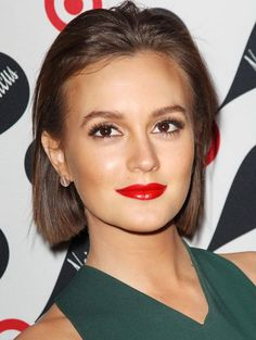 Leighton Meester's hair and makeup couldn't be more perfect!