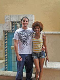 Interracial couple    #bwwm #wmbw