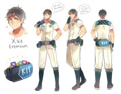 Someone suggested me to make a parody 'anime' version of thisimagewith my Senior IE-kun designs . Since the original were icons, I decided to make a human form version of it. I change s...