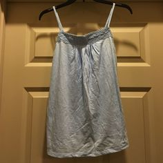 NWT GAP Light Blue Tank NWT GAP Light Blue Tank Size XS Adjustable straps GAP Tops Tank Tops