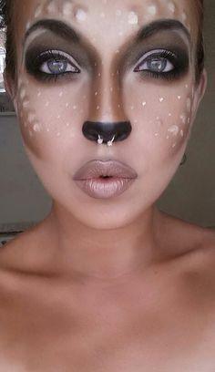 Cute bambie makeup