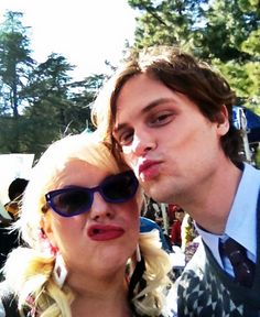 my two favorite people in criminal minds