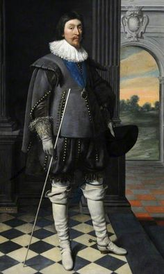 1623, James Hamilton (1589–1625), 2nd Marquess of Hamilton and 4th Earl of Arran, KG, PC. Daniel Mytens (c.1590–1647). Museums Sheffield.