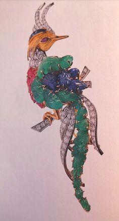 L'école des Arts Joailliers à Paris - Mireille Over60 Vintage Jewelry 1920s, Vintage Brooches, Ecole Art, Paris, I Love Jewelry, Rooster, Dire, Blog, Animals