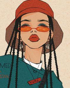 dessin art artistes créatifs Informations About Drawing Art Creative Artists Pin You can eas Black Girl Art, Art Girl, Art Sketches, Art Drawings, Drawing Art, Nose Drawing, Illustration Blume, Arte Sketchbook, Hippie Art