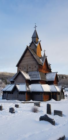 Heddal Stave Church is the biggest stave church in Norway. Europe Photos, Cathedrals, Travel Advice, Norway, Travel Destinations, Places To Visit, Environment, House Styles, World