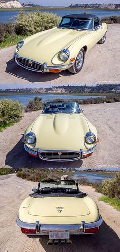 1972 Jaguar E-Type SIII V12 Roadster …