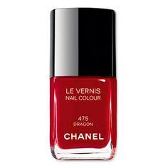 the Glamorous 2017 Golden Globes Red Carpet Arrivals Chanel nail polish in 'Dragon'.Chanel nail polish in 'Dragon'. Chanel Nail Polish, Chanel Nails, Red Nail Polish, Red Nails, Trendy Nail Art, Stylish Nails, Dragon Nails, Sns Nails Colors, Thanksgiving Nail Art