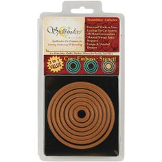 Spellbinders Nestabilities Dies-Standard Circles Small $14.99 Approximate Die Template Sizes: 1: ⅝″ 2: 1⅛″ 3: 1⅝″ 4: 2⅛″ 5: 2⅝″ 6: 3″ 7: 3½″