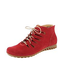 BSS 41 BESSA Think 84079-72 Damen Sommer Booties sonniges rosso-rot
