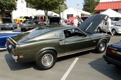 1969 Mustang GT in black Jade. What a great color!!