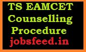 Telangana EAMCET Counselling Schedule 2014 Download TS Counselling Dates