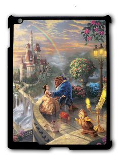 Beauty and the Beast Falling in Love – x Gallery Wrapped Canvas - Thomas Kinkade Studios Gallery Wraps are perfect for any space. Each wrap is crafted with our premium canvas reproduction techniques and hand wrapped around a Beauty And The Beast Bedroom, Beauty And The Beast Theme, Disney Beauty And The Beast, Thomas Kinkade Disney, Disney Love, Disney Disney, Disney Dream, Disney Stuff, Disney Princess