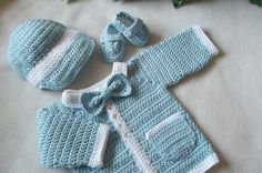 Ravelry: Project Gallery for My Little Man Baby Sweater pattern by Mandy Nihiser