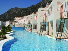 ★★★★ The Family Village Hotel is a member of the Mitsis group of hotels.  It is situated at the foot of Mount Dikeos and enjoys spectacular views over the Aegean Sea.  The hotel is a good choice for all as it offers a good range of leisure facilities including plenty of watersports. Kos, Greece