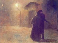 Masterpiece of Art: Jakub Schikaneder - The Kampa Lovers, 1894
