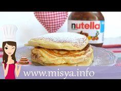 Pancake alla Nutella, la ricetta di Misya