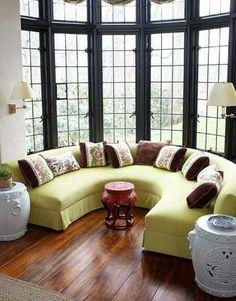 Sala de estar circular