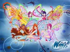I was obsessed with the winx club :$