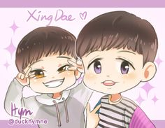 Jongdae x Yixing = XingDae