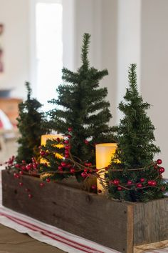 Are you looking for ideas for farmhouse christmas tree? Browse around this site for cool farmhouse christmas tree images. This farmhouse christmas tree ideas seems wonderful. Christmas Decor Diy Cheap, Farmhouse Christmas Decor, Christmas Table Decorations, Outdoor Christmas, Rustic Christmas, Simple Christmas, Winter Christmas, Christmas Projects, Christmas Home