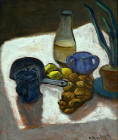 Milton Avery Still Life with Twisted Bread 1931