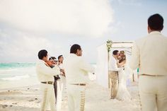 Destination Wedding at Riu Palace Peninsula - mariachi wedding in Cancun, Mexico - Beach Wedding