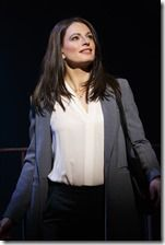 "Jackie Burns stars as Elizabeth in Broadway in Chicago's ""If/Then"" by Tom Kitt and Brian Yorkey, directed by Michael Greif. (photo credit: Joan Marcus)"