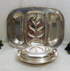 Vintage English Silverplate Meat Vegetable Serving Dish Tray Set https://www.etsy.com/listing/470116566/vintage-english-silverplate-meat?ref=shop_home_active_8