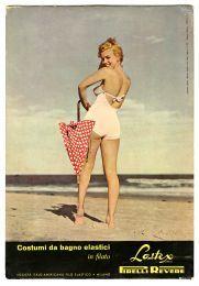 Marilyn Monroe for Pirelli, at the beginning of her career