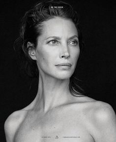 Christy Turlington by Max Vadukul … Nicoletta Santoro (style) … Serge Normant (hair) … Gucci Westman (make-up) … Christy, Town & Country, October 2016