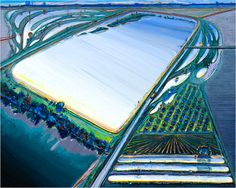 ART & ARTISTS: Wayne Thiebaud (landscapes)    Use with activity about art inspired by aerial photography/google earth.