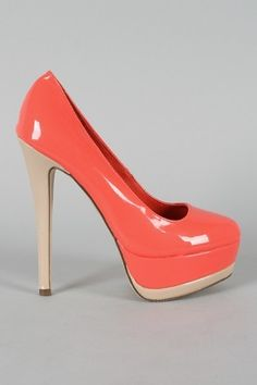 OMG Was just looking for a pair of shoes in this color today!!!!! Must have these!!! lol